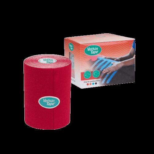 VetkinTape-veterinary-kinesiology-tape-10cm-red