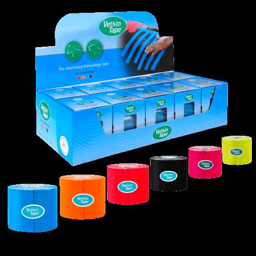 VetkinTape-veterinary-kinesiology-tape-all-colours-displaybox