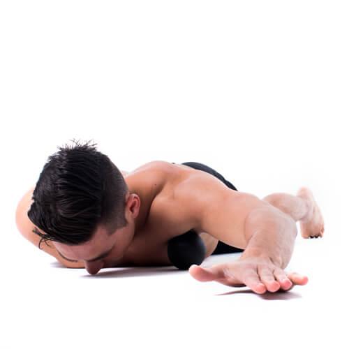 trigger point massage ball shoulder