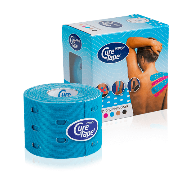 curetape-kinesiology-tape-punch-pack-roll-blue
