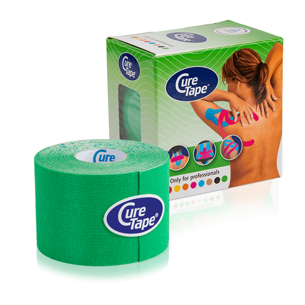 curetape-kinesiology-tape-classic-pack-roll-green