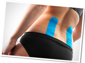 kinesiotape application lower back
