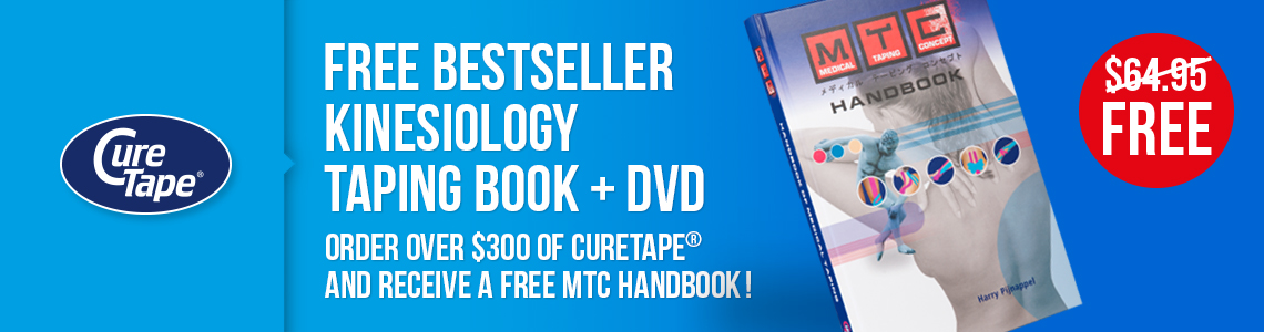 Monthly special - kinesiology taping book free