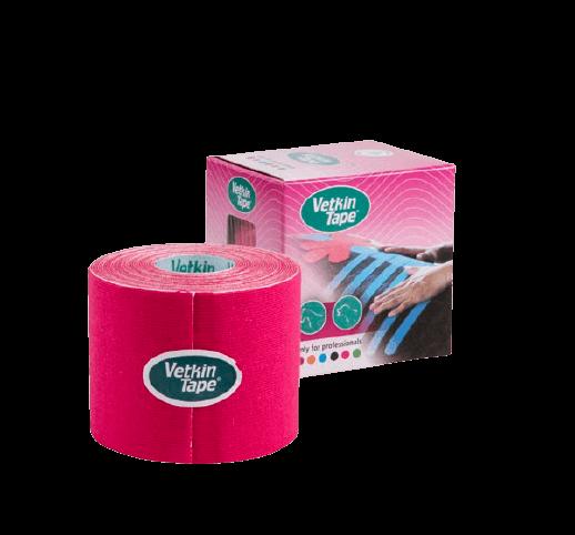 VetkinTape-veterinary-kinesiology-tape-5cm-pink