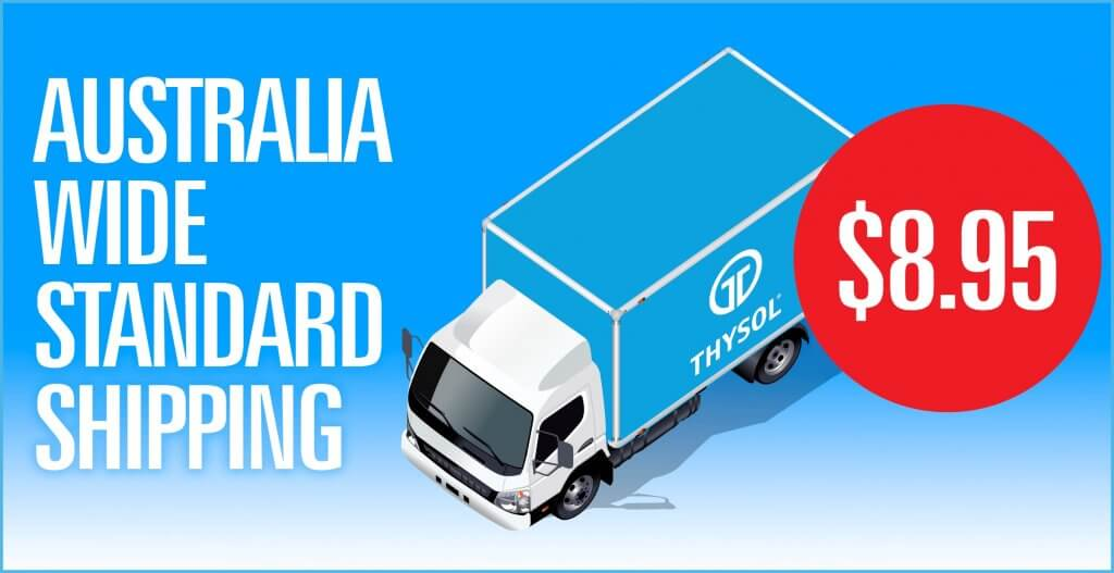 THYSOL Australia-shipping